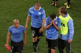 乌拉圭球员悲伤