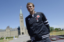 加伦敦奥运拿大代表团旗手选定