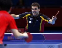 乒乓球男团争夺铜牌