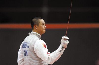 中国男子花剑队内世界排名第3高的黄良财痛失奥运资格,他已萌生退意