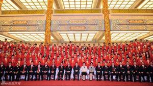 中国奥运代表团今成立33奥运冠军领衔战23大项