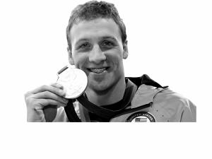 罗切特极具个性的牙套险些让他没能领到金牌。