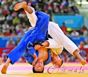 日韓柔道競爭激烈
