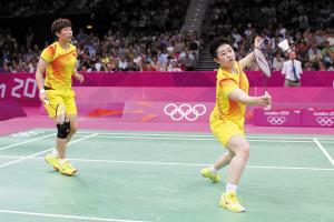 羽毛球女双消极比赛于洋等八人被取消资格(图)