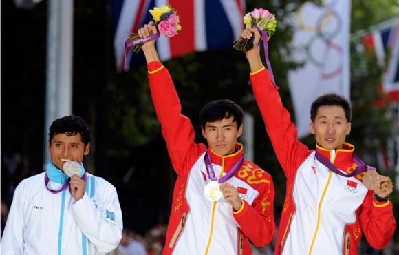 陈定摘得男子20公里竞走金牌 王镇铜牌