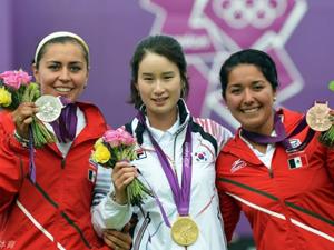韩国奇甫倍夺得射箭女子个人赛金牌
