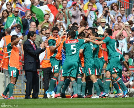 墨西哥获第一枚伦敦奥运会金牌