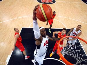 美国男篮胜西班牙夺金