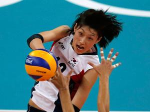 韩国女排0-3负美国无缘决赛