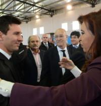 阿根廷队与球迷总统见面
