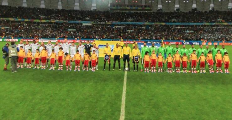 德国vs阿尔及利亚开场仪式