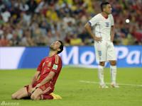 世界杯B组次轮 西班牙VS智利下半场