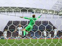 世界杯D组次轮 乌拉圭V英格兰下半场
