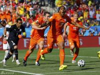 世界杯B组末轮荷兰VS智利 下半场