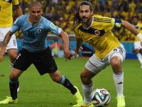 世界杯1/8决赛 哥伦比亚VS乌拉圭下