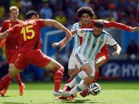 世界杯1/4决赛 阿根廷VS比利时下半场