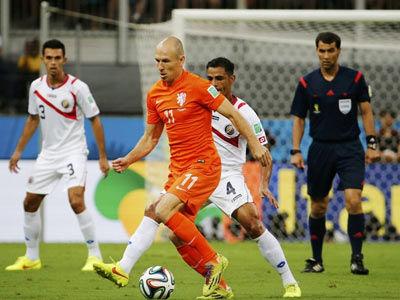 荷兰VS哥斯达黎加下