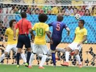 巴西世界杯季军赛 巴西VS荷兰上半场