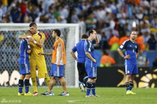 阿根廷再次尝到失败的痛苦