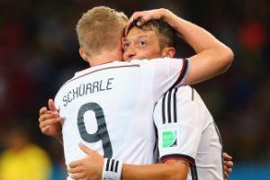 世界杯-厄齐尔加时赛进球德国2-1险胜将战法国