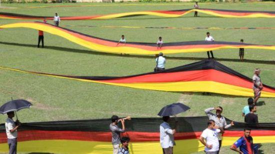 世界上最长的德国国旗