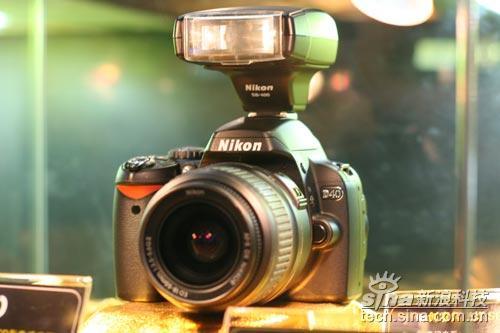 尼康D40数码单反相机