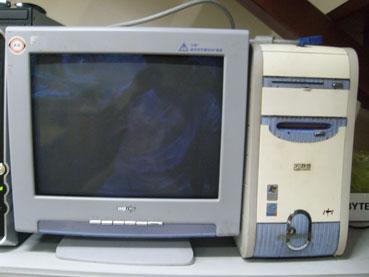 """""""古老的""""联想1 1台式电脑图片"""