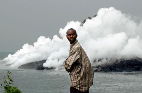 非洲死亡湖