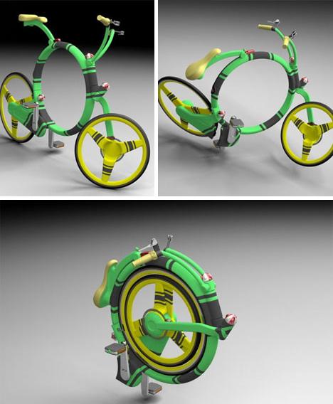 创意:新奇自行车 - 火烈鸟 - 致虚极守静笃的火烈鸟