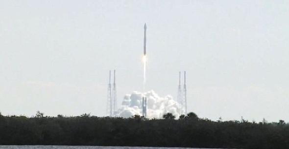 这枚火箭是于2月11日从肯尼迪航天中心发射的