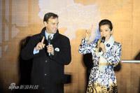 WWF中国首代与李冰冰现身北京故宫熄灯现场