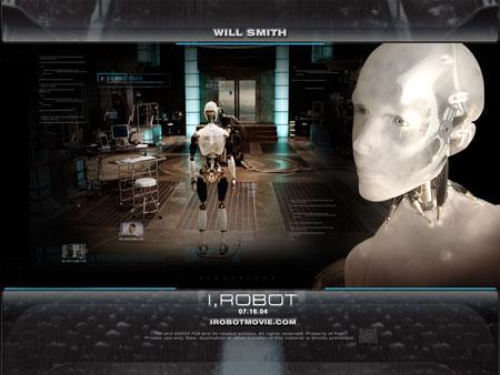 电影《机械公敌》海报(新浪科技配图)