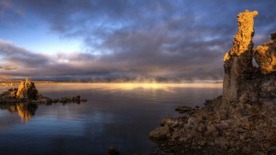美国加利福尼亚莫诺湖研究区
