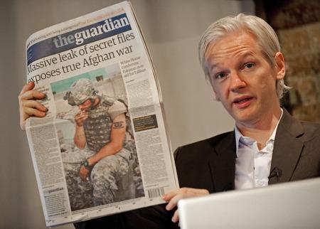 維基解密創始人朱利安·阿桑奇(Julian Assange)