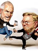 乔布斯大战谷歌CEO施密特