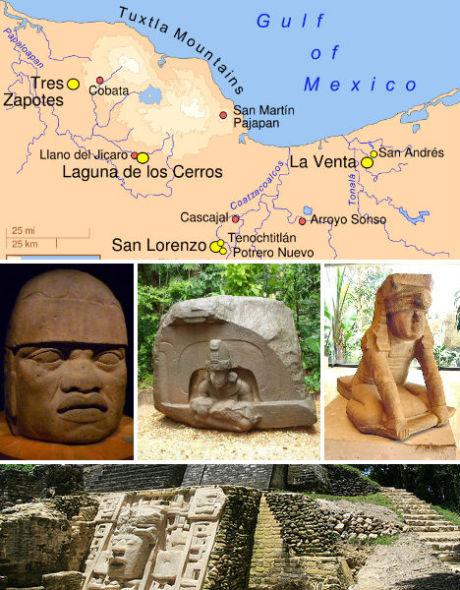 墨西哥奥尔梅克文明