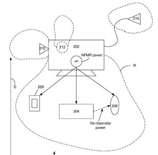 苹果新专利:通过Mac电脑为手机无线充电