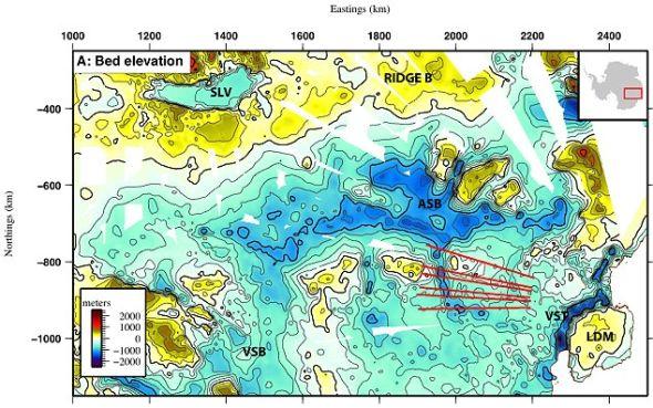 参与这一项目的科学家们希望他们的这一成果将有助于对南极冰盖对未来全球海平面的影响进行预测
