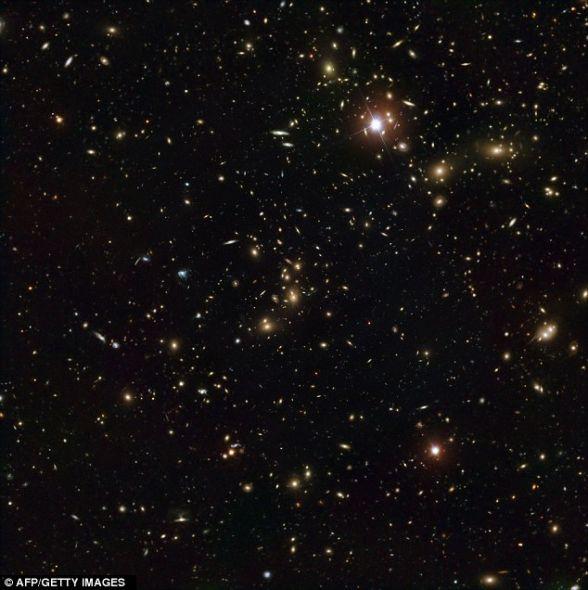 成员星系质量仅仅占据了阿贝尔-2744星系总质量的5%不到,其它大约20%的质量是弥散的气体物质