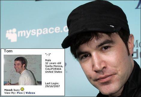 Myspace联合创始人汤姆·安德森(Tom Anderson)