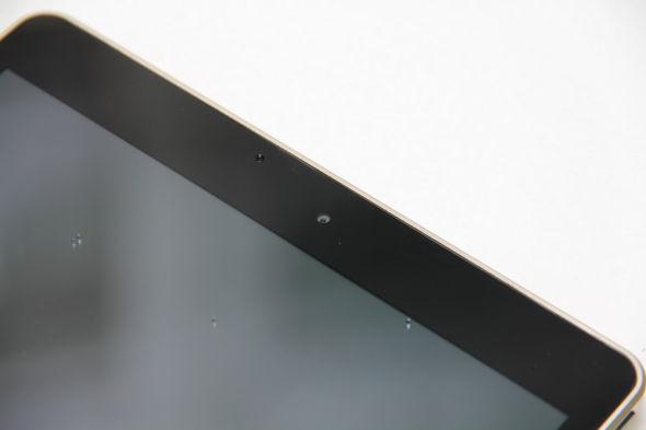 正面配有一个摄像头-轻薄取胜 TCL OpenPad平板电脑体验评测