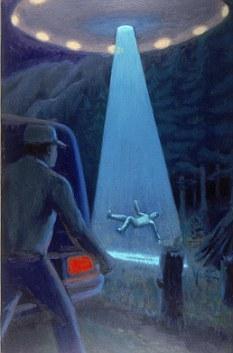 美国研究人员发现,通过几天的意识训练,他们能够让志愿者在梦境中遭遇外星人,例如看到满载小外星人的飞船或者邪恶的机器人