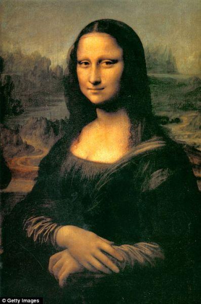 达芬奇的经典作品《蒙娜丽莎》,保存在巴黎罗浮宫