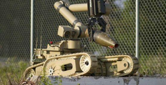 拆弹机器人Warrior 710