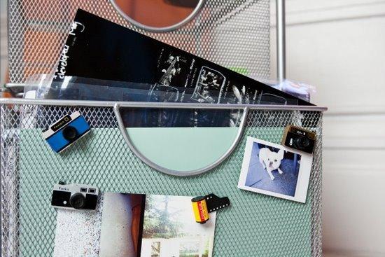 木制相机造型磁铁