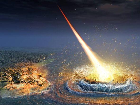 谣言一:太空撞击让地球陷入混乱
