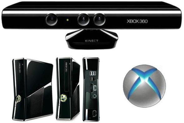 微软Xbox Kinect游戏套装