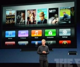 库克发布新Apple TV