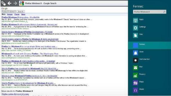 Metro版火狐瀏覽器更加簡潔