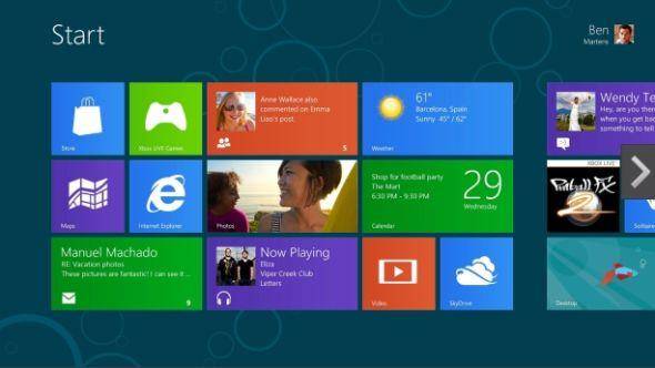 微软正式发布Windows 8发行预览版